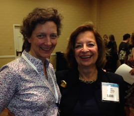 NANFED Board members Lisa Richardson and Ronnie Glassman at the 2013 reception.