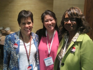 NANFED's newest board members: Michele Sienkiewicz, Kimberly Setterlund, and Theresia Johnson-Ratliff